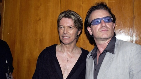 David Bowie Meltdown After Show Party At The Royal Festival Hall, London, Britain - 29 Jun 2002