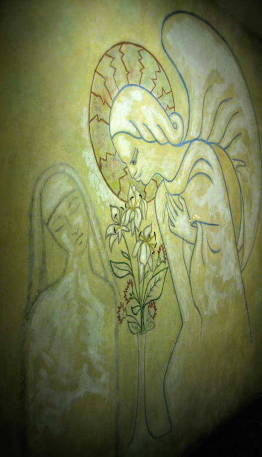 The Annunciation.